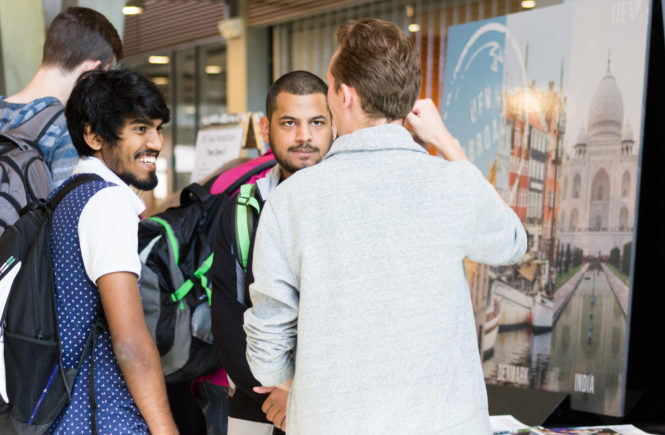 students waiiting for foreign education consultants
